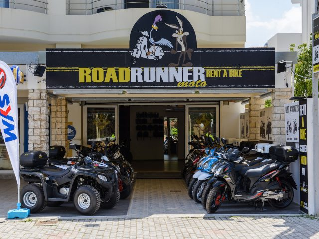Roadrunner Moto bike rental – SP102